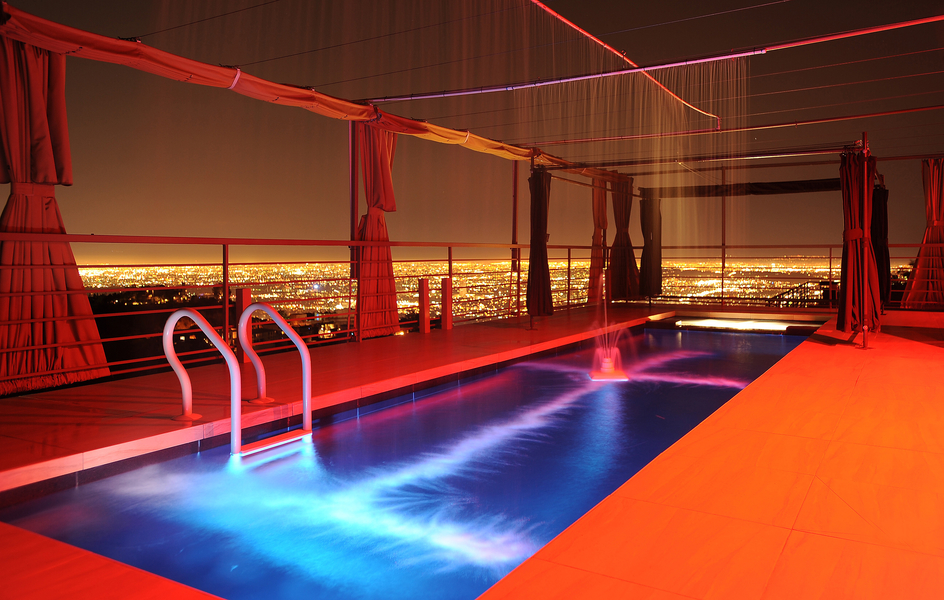 2189 sunset plaza  night pool